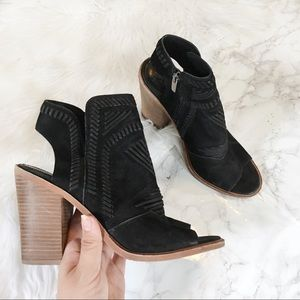 Vince Camuto Karinta Open Toe Ankle Booties